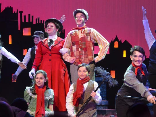 """Brewster High School's production of """"Mary Poppins"""""""