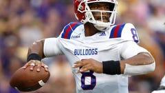 No. 6 LSU beats back Louisiana Tech upset bid, 38-21