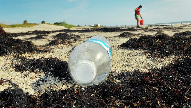 FILE PHOTO: More than 1,000 volunteers helped Keep Brevard Beautiful clean up the beaches on Saturday.