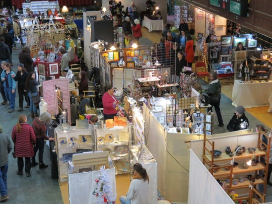 The 27th-annual Women's Festival of Crafts moves this year to the Burlington Town Center.