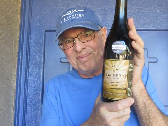 Sam Pillsbury, owner of Pillsbury Wine Company, poses