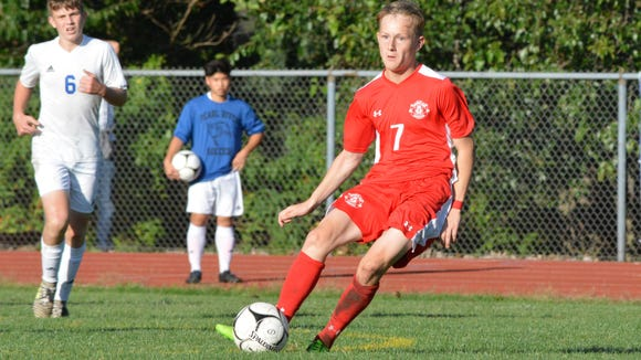 Tappan Zee striker Ciaran Shalvey changes direction