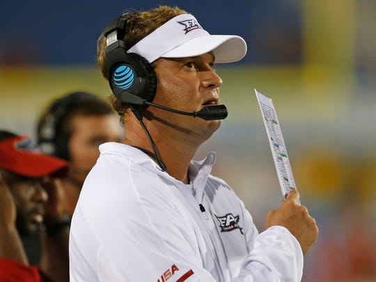 New Florida Atlantic coach Lane Kiffin has had a rocky