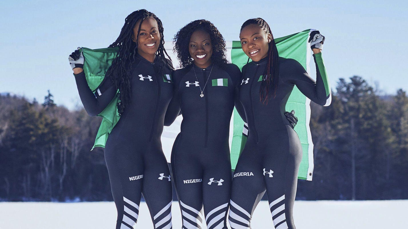 Nigeria's 1st bobsled team running for pride and legacy
