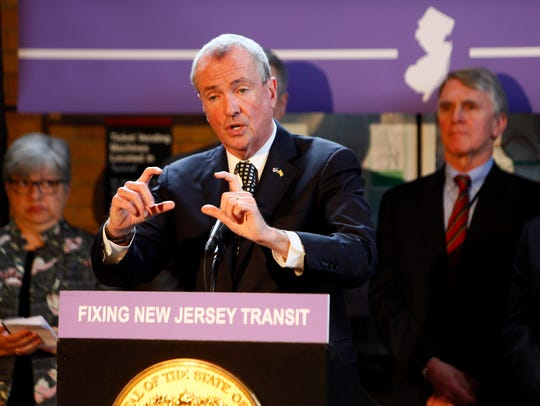 New Jersey Governor Phil Murphy speaks at the Madison