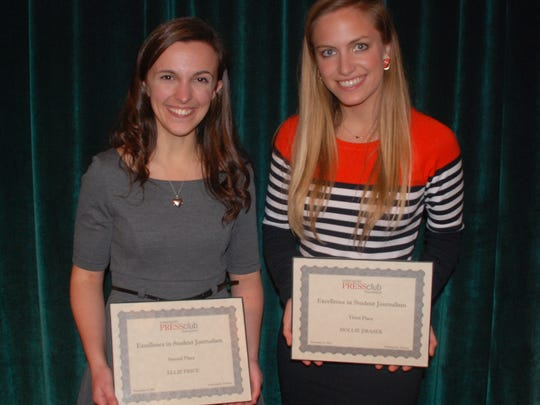 Students chosen for the Indianapolis Press Club Foundation's