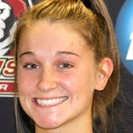 York Catholic graduate Morgan Klunk leads the Bloomsburg women's basketball in assists. She's also third on the team in scoring and second in steals.