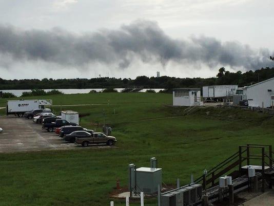 SpaceX Explosion_Garw
