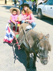 Tomey Stokes gives a ride to one child, who doesn't