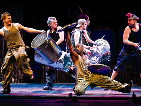 The percussion troupe Stomp bangs a gong (and lots of other stuff) at the Pabst Theater April 13-15.