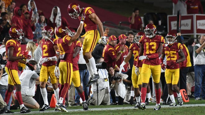 The No. 9 Trojans, coming off a bye, must beat Stanford for a second time to become the first South champion in the Pac-12 division era.