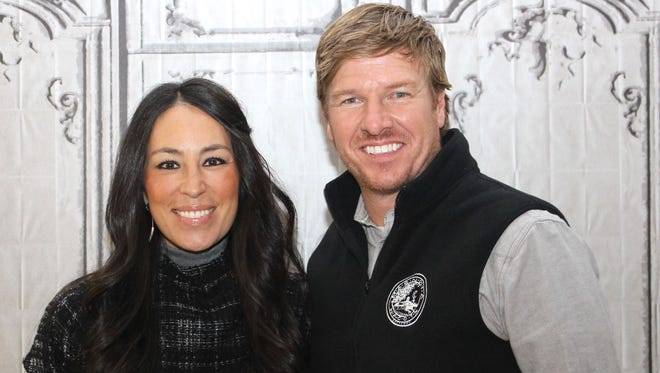 Chip Gaines and Joanna Gaines stars, of 'Fixer Upper.' in New York on December 8, 2015.