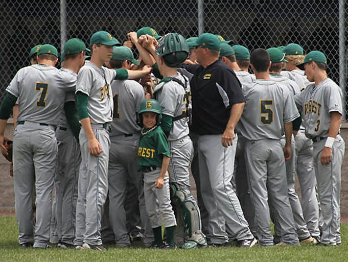 Everest took a late 4-3 lead but couldn't hold on to it and fell to Ashwaubenon, 5-4 in a WIAA D1 sectional semifinal game at Wausau West.