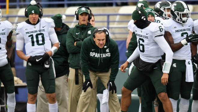 Michigan State got off to a fast start and closed well. The middle of the game was a struggle for the Spartans, including for QB Brian Lewerke and co-offensive coordinator Dave Warner, both of whom drew the ire of fans on social media.