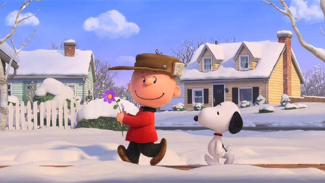 """Charlie Brown and Snoopy in """"The Peanuts Movie."""""""