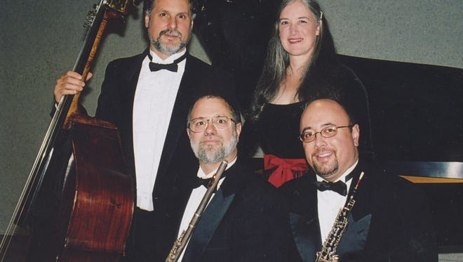 Members of the Ceruti Chamber Players.