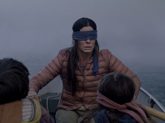 "Sandra Bullock starred in the Netflix horror hit ""Bird Box."""