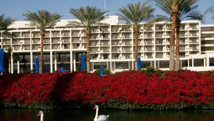 The JW Marriott Desert Springs Resort & Spa in Palm