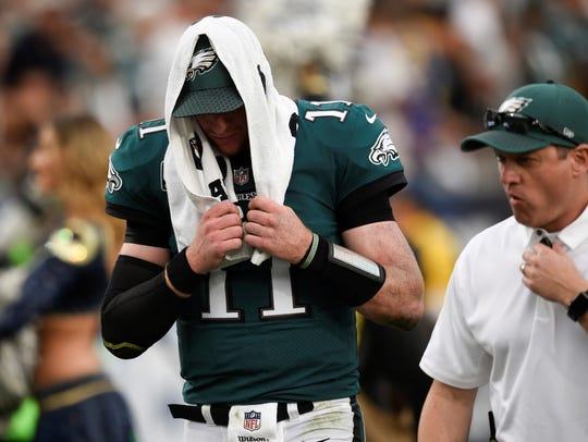 Philadelphia Eagles QB Carson Wentz has dealt with season-ending injuries in each of the last two seasons.