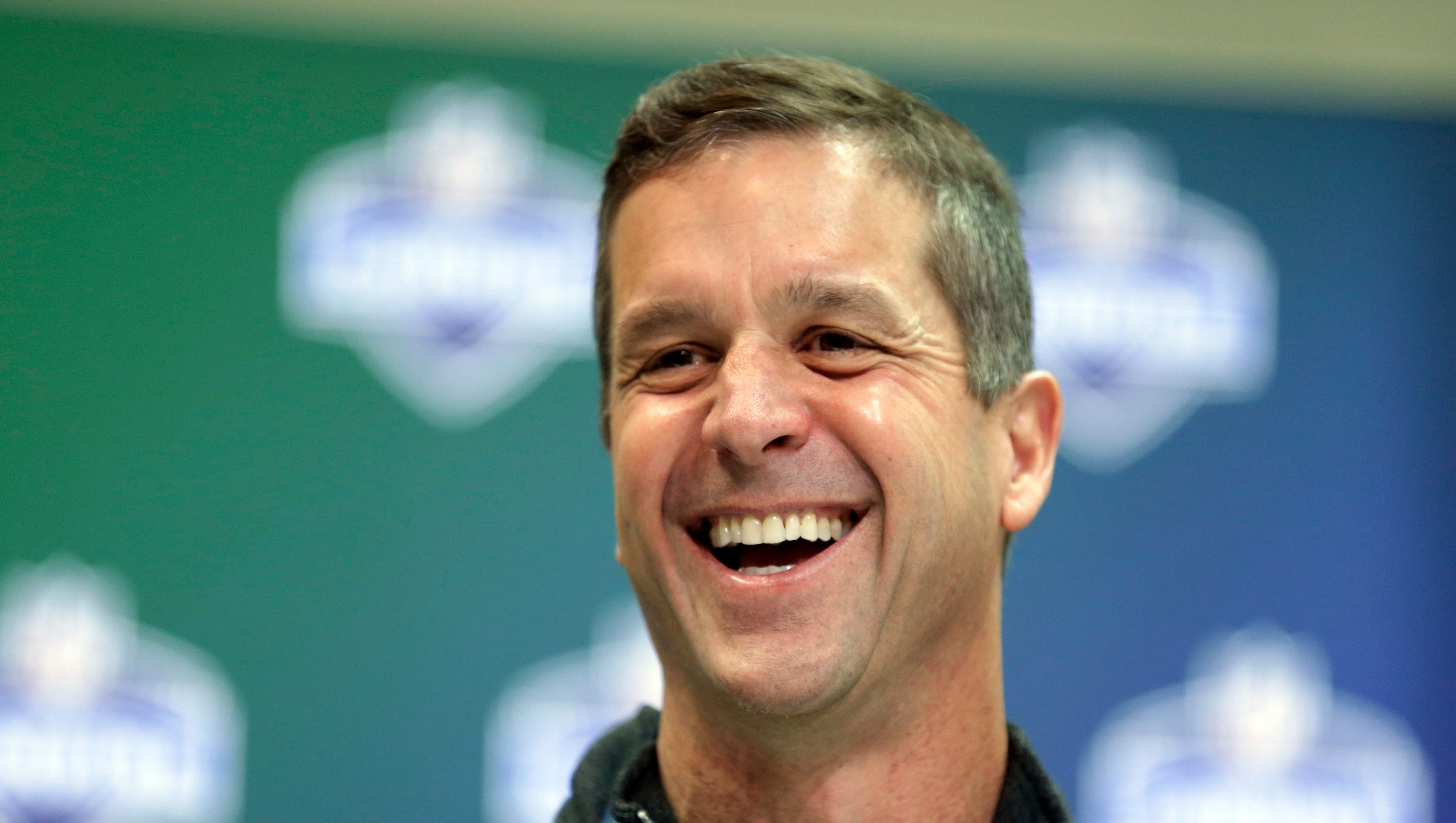 Ravens John Harbaugh Detroit Lions lured Rick Wagner with money