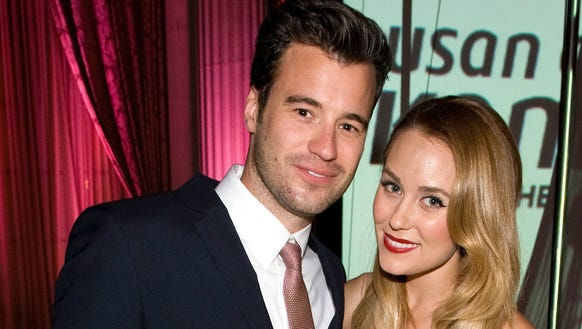 Lauren Conrad and husband William Tell will be welcoming