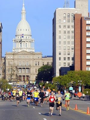 The first Lansing Marathon was held in 2012. Organizers ended the annual event less than three years later. The Capital City River Run added a marathon to its schedule in 2014, but dropped it from this year's lineup, which still includes a half marathon.