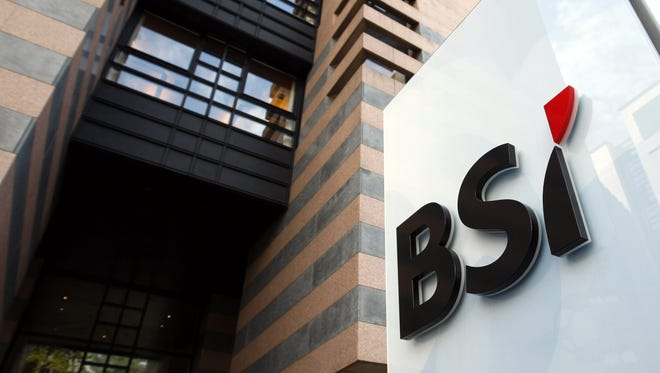 A picture dated 31 March 2010 and made available on 24 May 2016 shows the logo of the Banca della Svizzera Italiana (BSI) in Lugano, Switzerland.