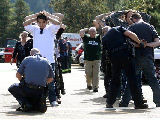 AP APTOPIX OREGON SCHOOL SHOOTING A USA OR