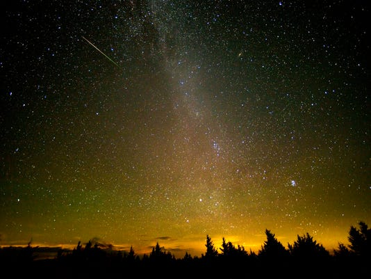 EPA USA NATURE PERSEID METEOR SHOWER ENV NATURE USA WV