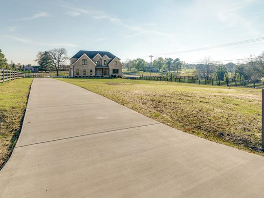 Plenty of green space surrounds homes on large lots