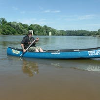 Bennie Giles, a retired Army veteran, is canoeing the length of the Mississippi both to raise money for Homes for Troops and for a little soul searching.