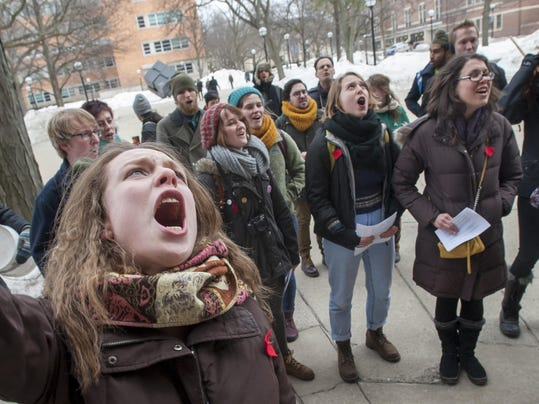 FILE-Sex-Assualt-Protest-UM