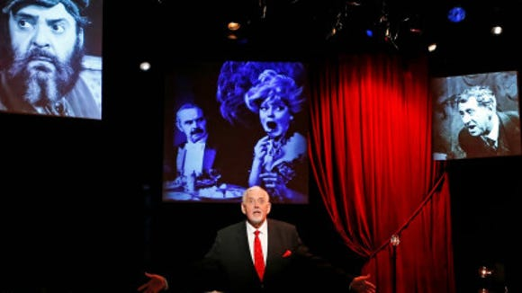 """Jim Brochu stars in his one-man musical memoir, """"Character Man,"""" which comes to Rockland Community College on Sept. 13."""