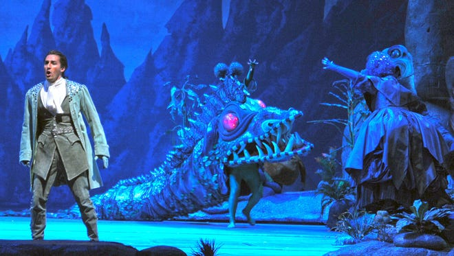 """Michigan's Opera Theatre's production of """"The Magic Flute,"""" will be using sets and costumes from the Lyric Opera of Chicago, whose production is shown here."""
