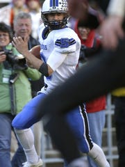 St. Mary's Springs quarterback Mitch Waechter led his team to the WIAA Division 6 state title last season.