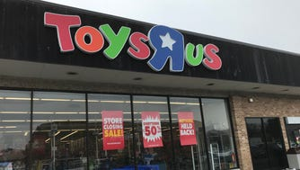 The Toys R Us store in Wayne has been conducting a going out of business sale since February. It was among the first group of stores to be closed.