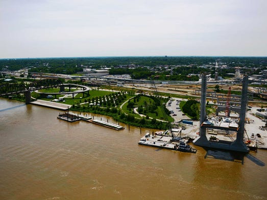 New i 65 bridge at louisville to open by christmas