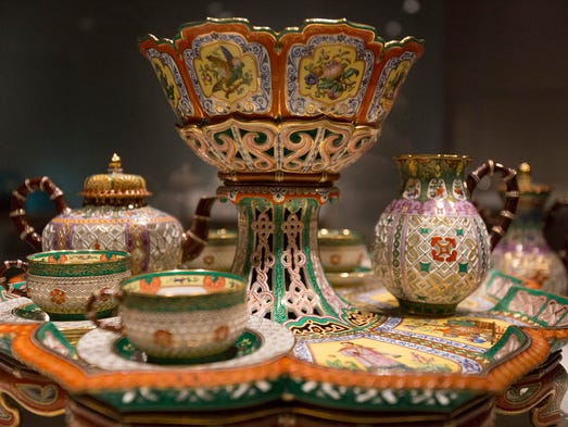 "An intricate ""Tea and Coffee Service"" made in 1842-1843"