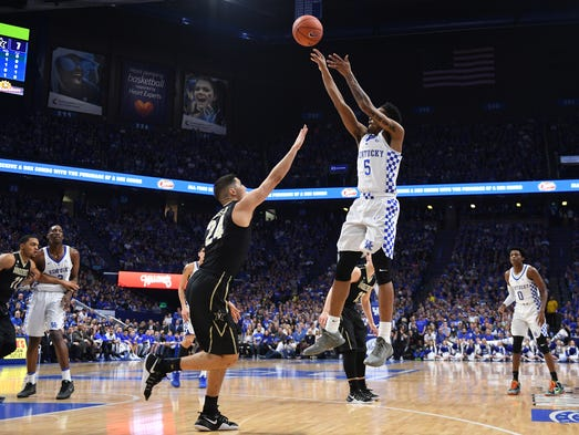 Cowgill 6 Uk Basketball Visits Vanderbilt Tuesday: Kentucky Climbs Back In Win Against Vanderbilt