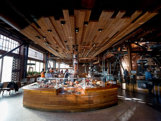 Starbucks Reserve Roastery and Tasting Room mega-store