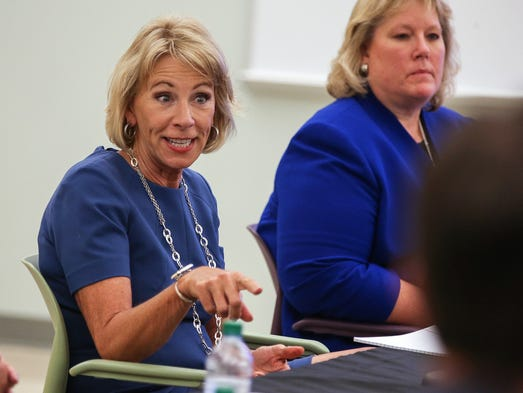 DeVos wraps up multi-state tour in Indiana