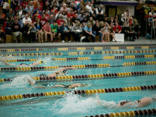 East Girls Swimming Prevails Again