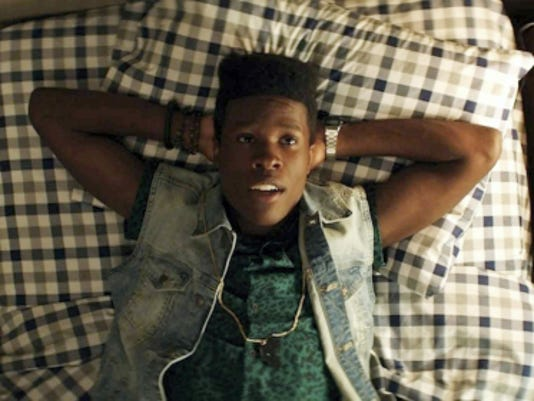 """Shameik Moore stars as Malcolm in a scene from """"Dope."""""""