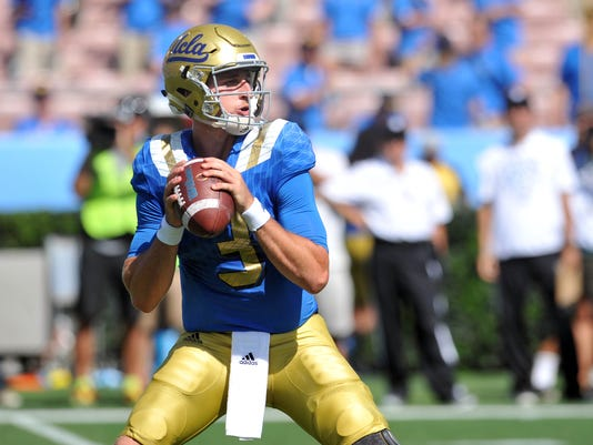 NCAA Football: Virginia at UCLA
