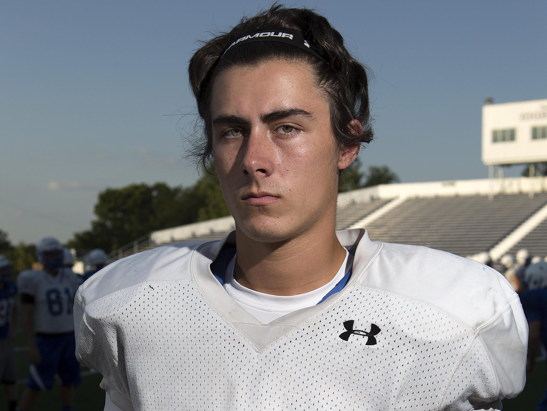 Highlands senior quarterback Austin Hergott.