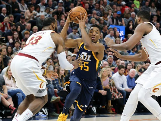NBA: Cleveland Cavaliers at Utah Jazz
