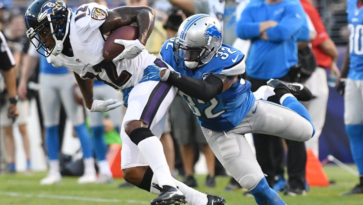 Report: Lions' Wilson sued over alleged domestic violence