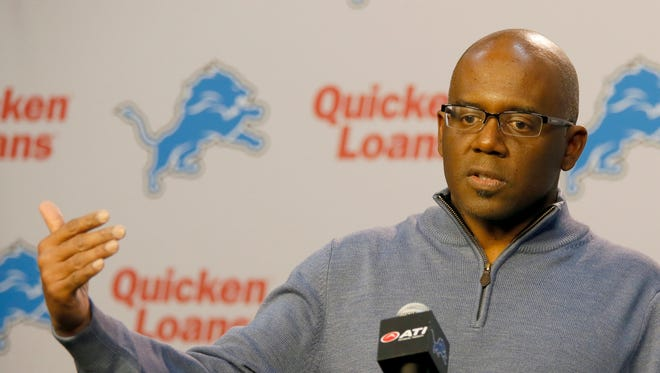 Detroit Lions general manager Martin Mayhew.