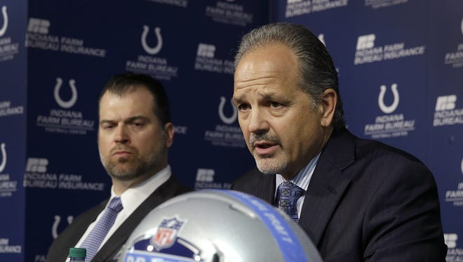 Ryan Grigson and Chuck Pagano are expected to return for their sixth season with the Colts in 2017.