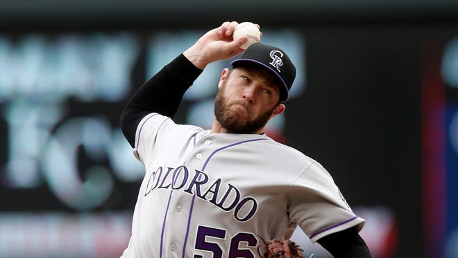 Colorado closer Greg Holland has helped the Rockies to the top spot in the National League power rankings.